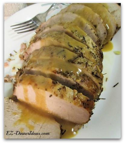 Rosemary Garlic Pork Loin