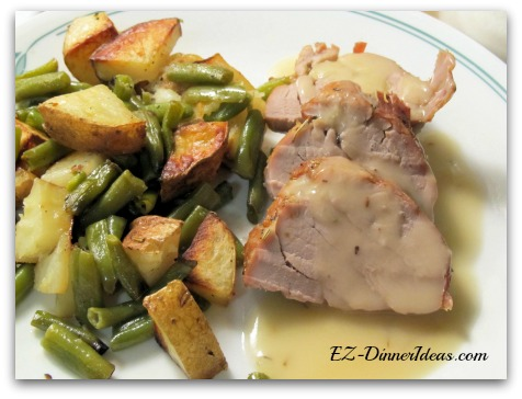 Rosemary Garlic Pork Tenderloin