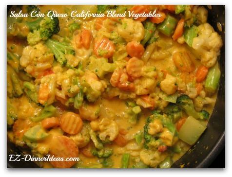 5 Must-Cook Frozen California Blend Vegetables Recipes - Salsa Con Queso California Blend Vegetables
