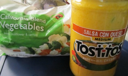 Salsa con Queso California Blend Vegetables