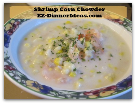 Shrimp Corn Chowder Seafood Lovers Heaven