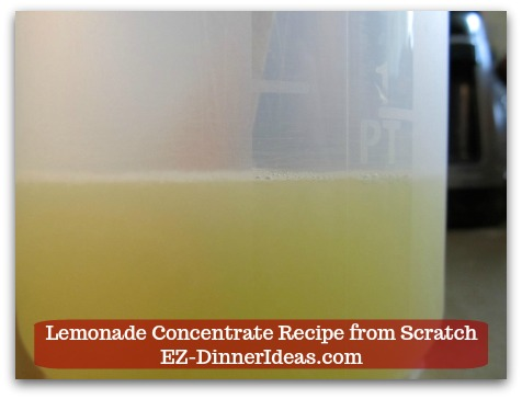 Lemonade Concentrate Recipe from Scratch - Get about 3/4 pint (or around 350ml) of lemon juice out of all the lemons