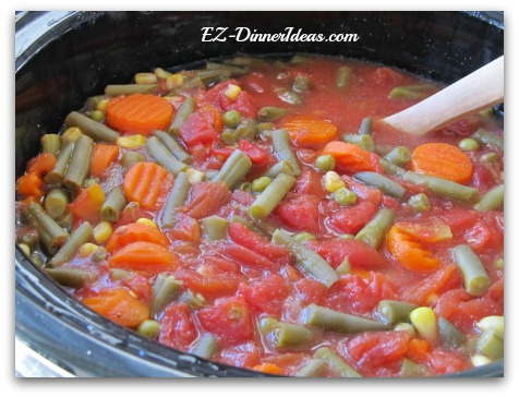 Slow Cooker Vegetable Stew