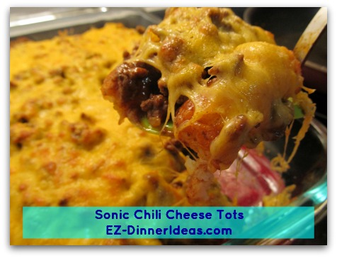 Sonic Chili Cheese Tots A Healthy And Economic Twist Of A Restaurant Remake Recipe