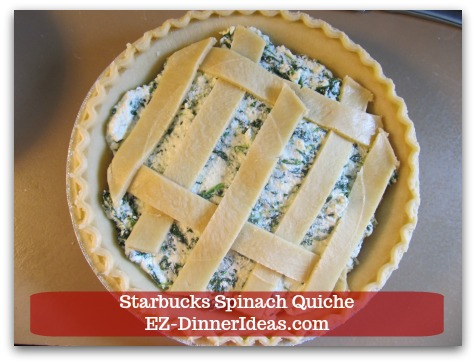 Starbucks Spinach Quiche