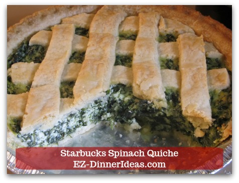Starbucks Spinach Quiche Step7