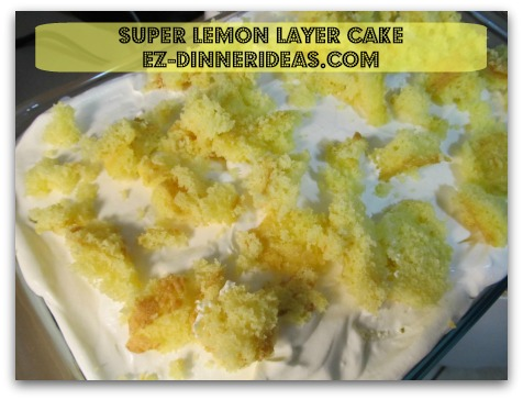 Lemon Cake Mix Recipe | Super Lemon Layer Cake, a cake named after my favorite candy which has the perfect tang and sweet flavor that everybody never gets enough.