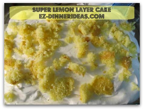 Lemon Cake Mix Recipe | Super Lemon Layer Cake Perfect Balance of Tang and Sweet Flavor