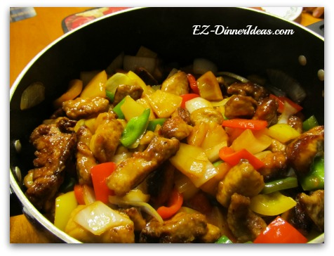 Asian Recipes - Sweet and Sour Pork