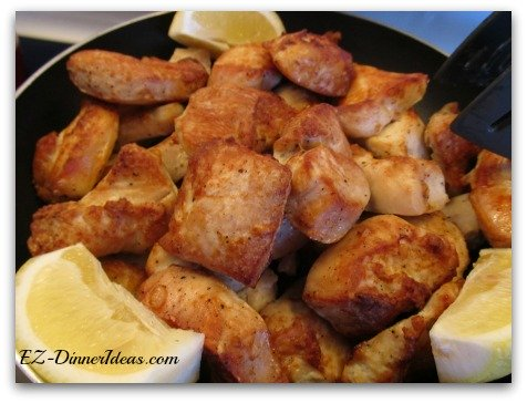 15-Minute Broiler Lemon Chicken - This lemon chicken only needs 15 minutes of cook time.  Having a delicious chicken dinner at home is that easy and quick.