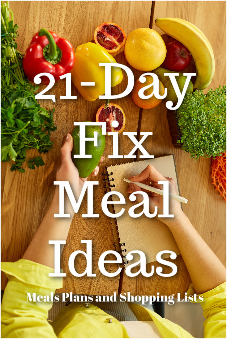 21-day fix meal ideas give you the flexibility, freedom and power on meal planning and give you back the time to focus on something more important in life.