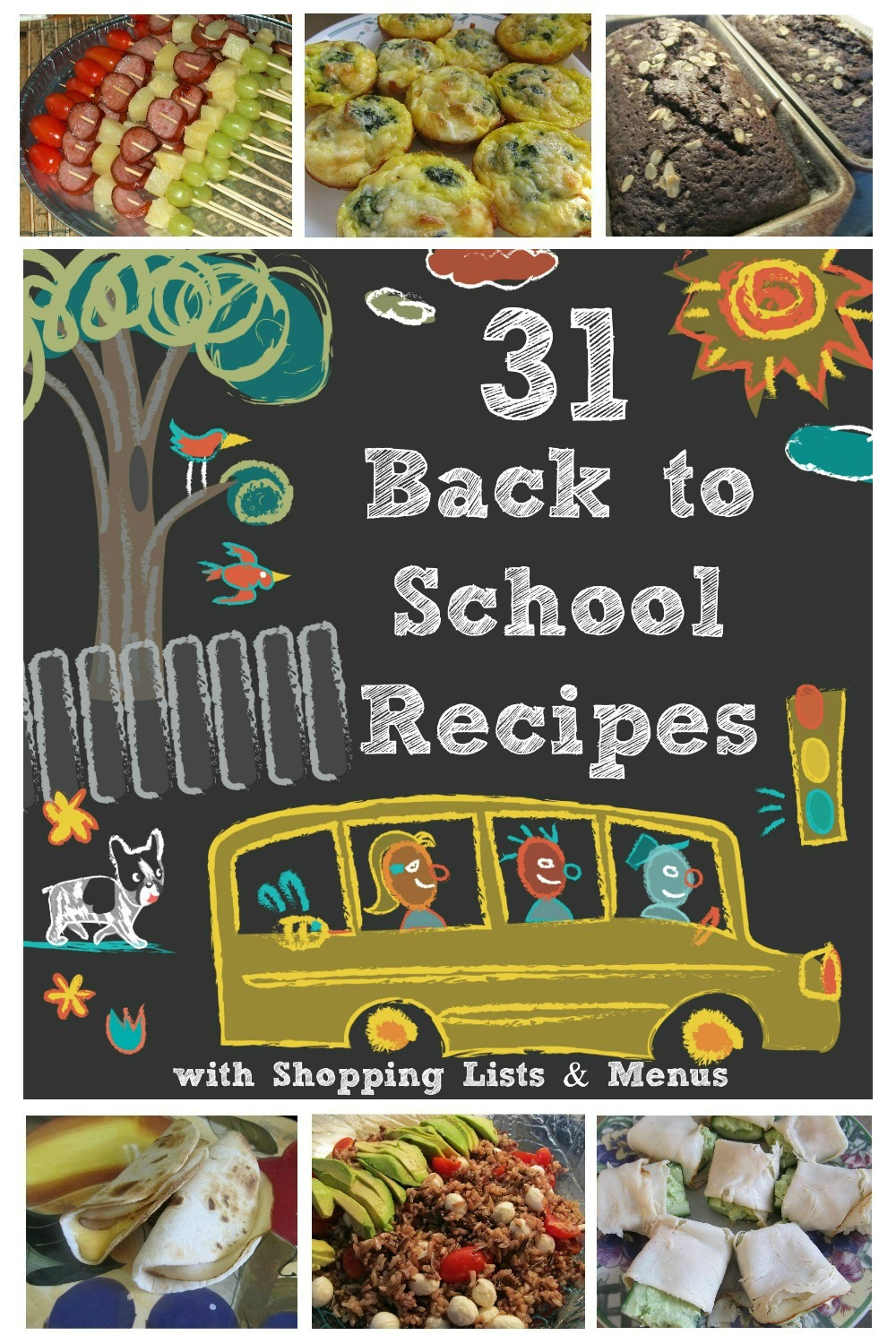 31 Back To School Recipes