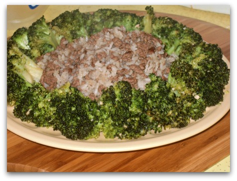 5 Spice Beef Rice Broccoli