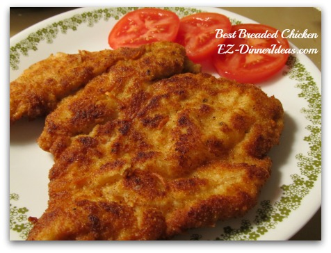 Best Breaded Chicken, one recipe makes in many tasty ways.