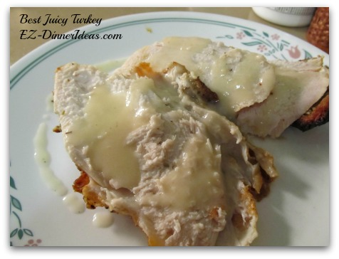Gravy is always the complement of the turkey to make the flavor pop, not used it for putting the moisture back to the meat