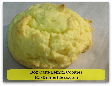 Lemon Cake Mix Cookies Using 100% Pantry Staples Extraordinary Dessert and Gift Idea