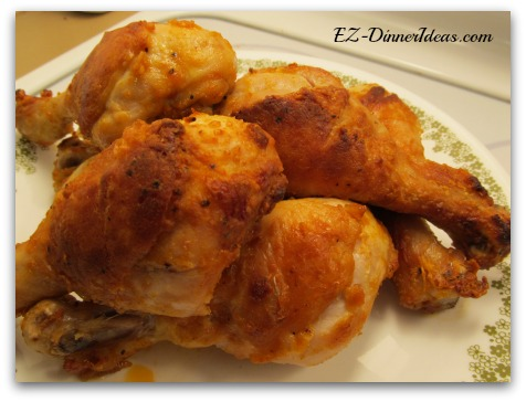 Oven Baked Buffalo Chicken Drumsticks