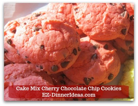 This cookie recipe using cake mix is easy to make.  The cookies are beautiful and great for entertaining.  It is also a wonderful recipe to keep kids busy.