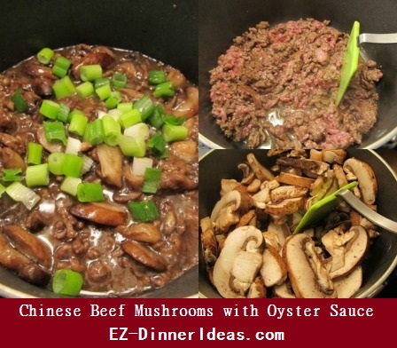 Chinese Beef Mushrooms with Oyster Sauce, an heirloom recipe, great eat-with-your-hands dinner.  Wonderful alternative to serve in big family dinner and let your guests to assemble their own meal.