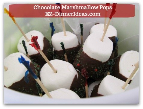 Chocolate Marshmallow Recipe | Chocolate Marshmallow Pops - From toddlers to the elderly, everybody enjoys these cuties so much that you will be surprised that it is gone in no time.