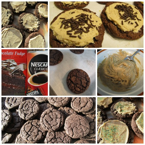 Cake Mix Chocolate Mocha Cookies - This recipe for devils food is like a cup of coffee in your hand with chewy texture.  Get ready to fall in love on chocolate mocha cookies after your first bite.