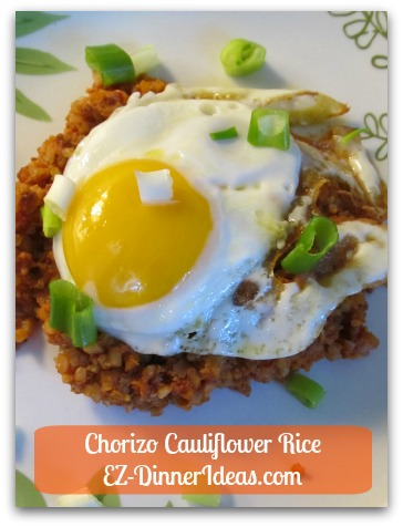 Chorizo Cauliflower Rice