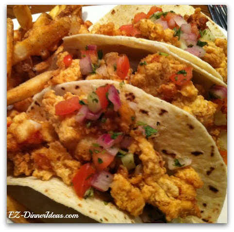 Crispy Lobster Taco