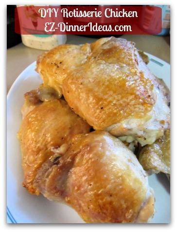 DIY Rotisserie Chicken
