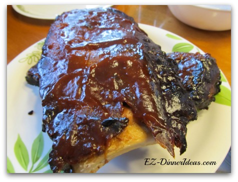 Baby Back Pork Ribs Recipe | Easy Oven Baked Fall Apart Ribs The American Classic Comfort Food Done In Your Oven