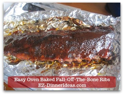 Baby Back Pork Ribs Recipe | Easy Oven Baked Fall-Off-The-Bone Ribs - Add BBQ sauce on top of the ribs and broil it for 1-2 minutes.
