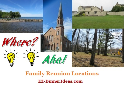 Finding family reunion locations may be one of the most challenging tasks for a big event.  But follow these guidelines and tips, you will find many options opening up for you.