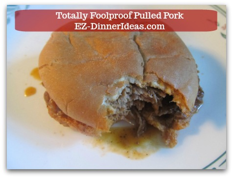 Pulled Pork Barbecue Recipe - Enjoy!  Mmmm....this is mouthwatering G.O.O.D!!!