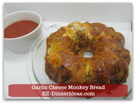 Garlic Cheese Monkey Bread