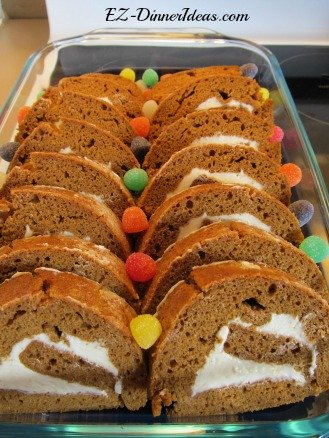 Gingerbread Roll