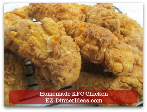 Secret Recipe Revealed Finally? Don't Know For Sure Homemade KFC Chicken Does Taste Almost Identical  As In KFC