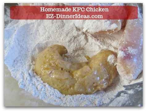 It does look like KFC Chicken you buy from the chain restaurant, doesn't it?