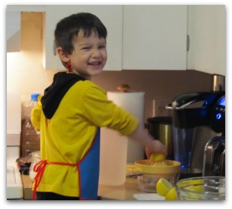 Kids recipes - always find a way to cook with your kids.  It's a lot of fun.