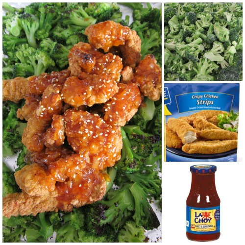 Ultra Lazy One-Pan Chinese Broccoli Chicken - 3 ingredients for a price of less than 2 take-out meal to feed 6-8 people. Wowwww.....