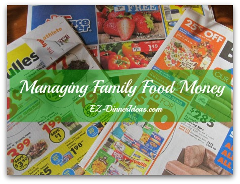 Managing Family Food Money