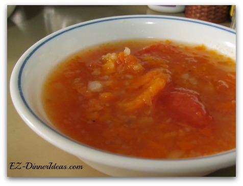 Tomato Carrot Potato Soup