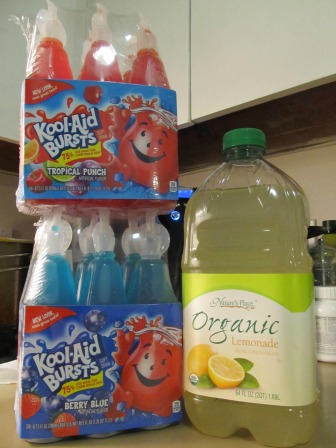 Old Glory Popsicles Juice Combinations