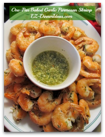 One-Pan Baked Garlic Parmesan Shrimp
