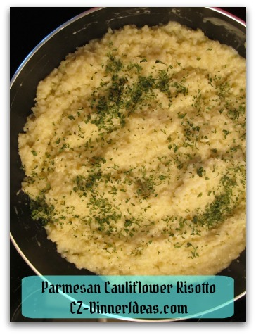Parmesan Cauliflower Risotto