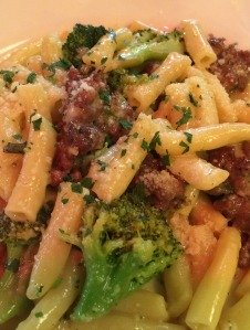The original Joey's Pasta Barese at Johnny's