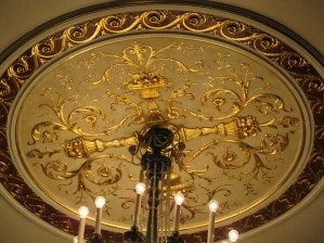 Ceiling decoration in the Proctors