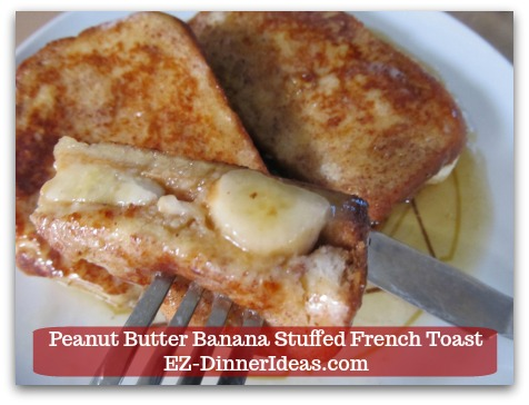 Banana French Toast Recipe is a Hong Kong Restaurant Inspired Recipe to Make A Breakfast for 2 under 20 Minutes.