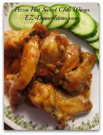 Pizza Hut Sweet Chili Wings