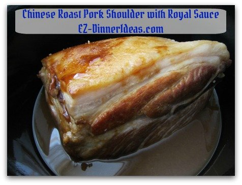 Crockpot Pork Roast Recipe - Transfer meat to slow cooker with royal sauce and cook for 6-8 hours