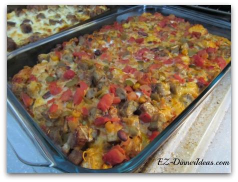 Salsa Breakfast Casserole
