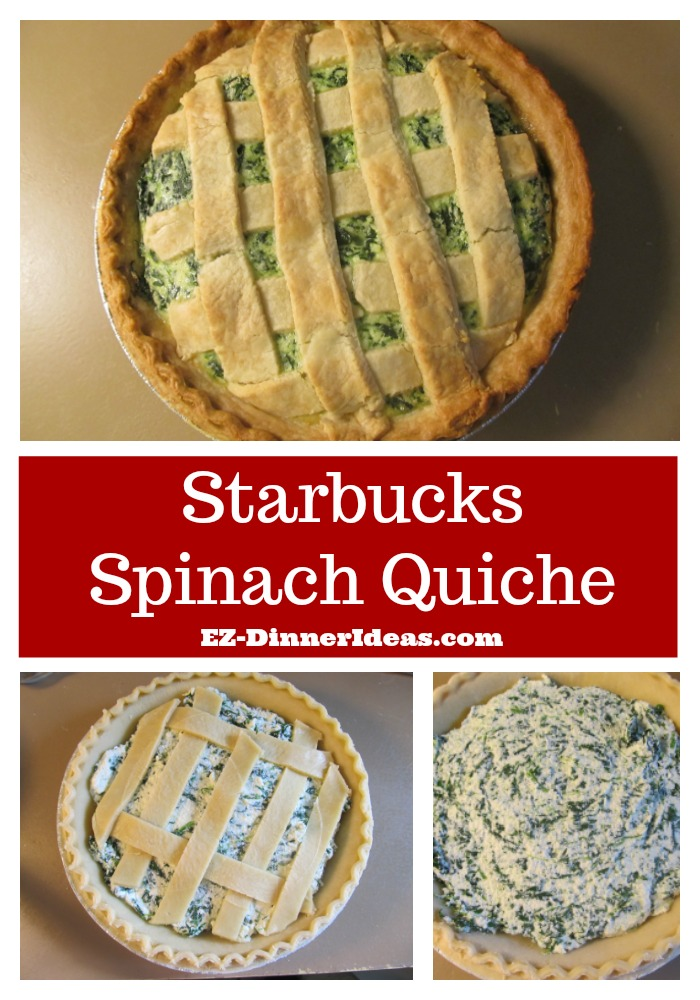 This Starbucks spinach quiche is only served in the Hong Kong branches.  Don't worry, you can make this at home instead of paying costly air tickets.
